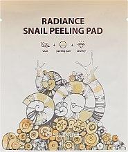 Düfte, Parfümerie und Kosmetik Gesichtspad mit Schneckenschleim - SeaNtree Radiance Snail Peeling Pad