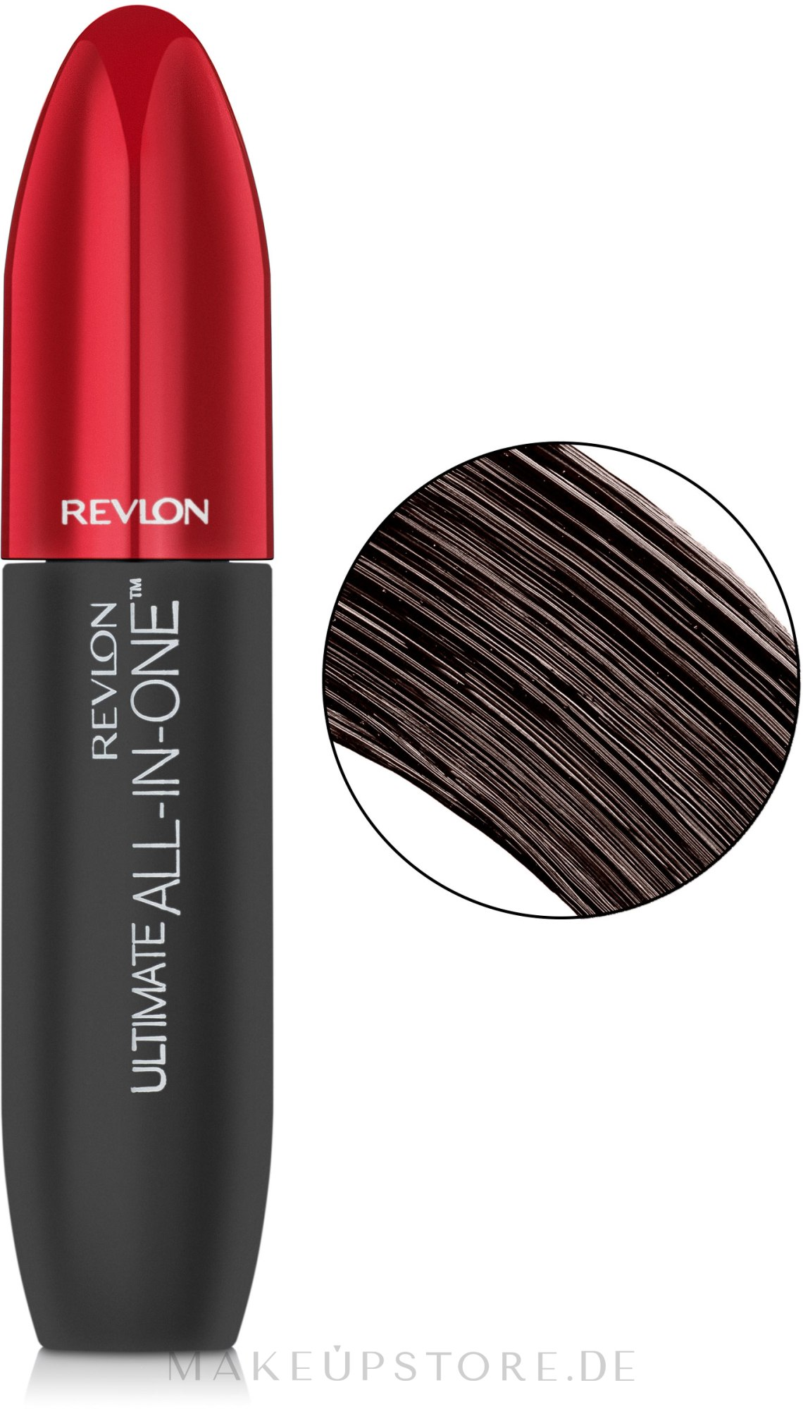 Wimperntusche - Revlon Ultimate All In One Mascara — Bild Blackened Brown