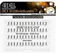 Düfte, Parfümerie und Kosmetik Wimpernbüschel-Set - Ardell Duralash 3D Individuals Short Black 75941