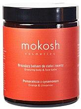 Düfte, Parfümerie und Kosmetik Balsam für Gesicht und Körper Orange & Zimt - Mokosh Cosmetics Body&Face Balm Orange & Cinnamon (Mini)
