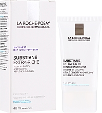 Düfte, Parfümerie und Kosmetik Reichhaltige wiederaufbauende Gesichtscreme für Festigkeit und Volumen - La Roche-Posay Substiane+ Extra Riche Fundamental Replenishing Anti-Ageing