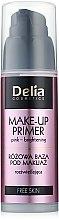 Düfte, Parfümerie und Kosmetik Aufhellender Gesichtsprimer - Delia Free Skin Make Up Primer