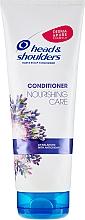 Pflegender Conditioner für Haar und Kopfhaut mit Lavendel-Essenz - Head & Shoulders Conditioner Nourishing Care — Bild N1