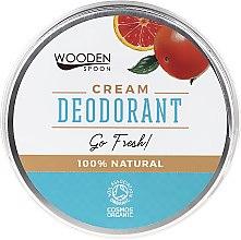 Düfte, Parfümerie und Kosmetik Erfrischende Deocreme - Wooden Spoon Go Fresh Cream Deodorant