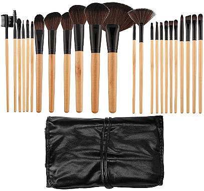 Make-up Pinselset 24-tlg. - Tools For Beauty — Bild N1