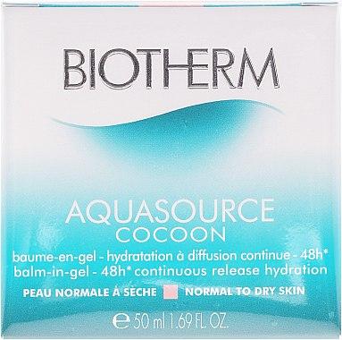 Balsamgel für normale bis trockene Haut - Biotherm Aquasource Cocoon Balsam — Bild N2
