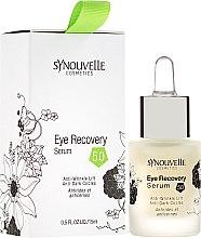 Düfte, Parfümerie und Kosmetik Serum für die Augenpartie - Synouvelle Cosmectics Eye Recovery Serum Anti-Wrinkle Lift Anti-Dark Circles