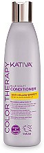 Düfte, Parfümerie und Kosmetik Anti-Gelbstich-Haarspülung - Kativa Color Therapy Anti-Yellow Effect Conditioner