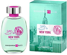 Düfte, Parfümerie und Kosmetik Mandarina Duck Let's Travel To New York For Woman - Eau de Toilette