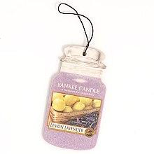 Düfte, Parfümerie und Kosmetik Papier-Lufterfrischer Lemon Lavender - Yankee Candle Lemon Lavender Car Jar