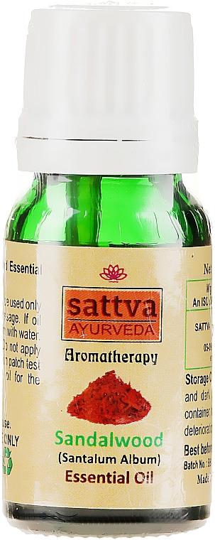 Ätherisches Sandelholzöl - Sattva Ayurveda Sandalwood Essential Oil — Bild N2