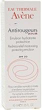 Düfte, Parfümerie und Kosmetik Feuchtigkeitsspendende und schützende Gesichtsemulsion gegen Rötungen SPF 20 - Avene Soins Anti-Rougeurs Redness Emulsion
