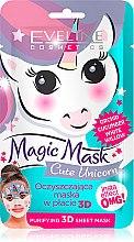 Düfte, Parfümerie und Kosmetik Tuchmaske Cute Unicorn - Eveline Cosmetics Magic Mask Cute Unicorn