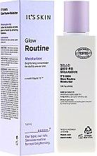 Düfte, Parfümerie und Kosmetik Feuchtigkeitsspendende Gesichtsemulsion zur Aufhellung und Hauttonbalance - It's Skin Glow Routine Moisturizer