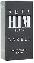 Düfte, Parfümerie und Kosmetik Aqua Him Black - Eau de Toilette