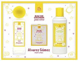 Düfte, Parfümerie und Kosmetik Alvarez Gomez Agua de Colonia Para Ninos - Duftset (Eau de Cologne 175ml + Feuchttücher für Kinder 10 St. + Körperlotion 300ml)