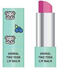 Düfte, Parfümerie und Kosmetik Zweifarbiger Lippenbalsam - Animal Two-Tone Lip Balm