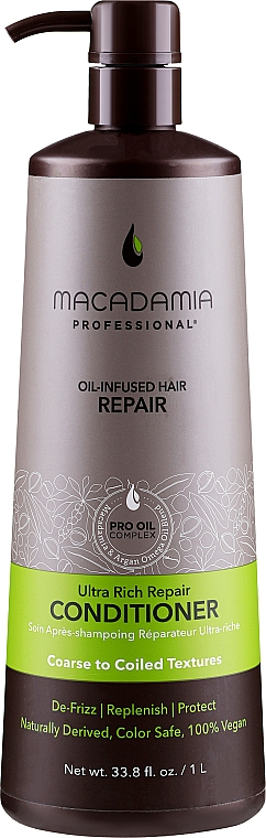 Conditioner mit Macadamia und Argan Omega - Macadamia Professional Ultra Rich Repair Conditioner