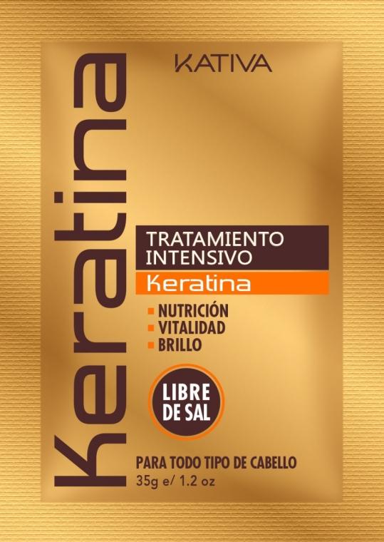 Intensiv Haarmaske mit Keratin - Kativa Keratina Intensive Treatment — Bild N1
