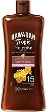 Düfte, Parfümerie und Kosmetik Trockenes Sonnenschutzöl mit Kokosnuss und Guave SPF 15 - Hawaiian Tropic Protective Oil SPF 15
