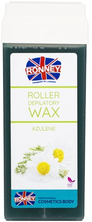Enthaarungswachs mit Azulen - Ronney Wax Cartridge Azulene — Bild N1