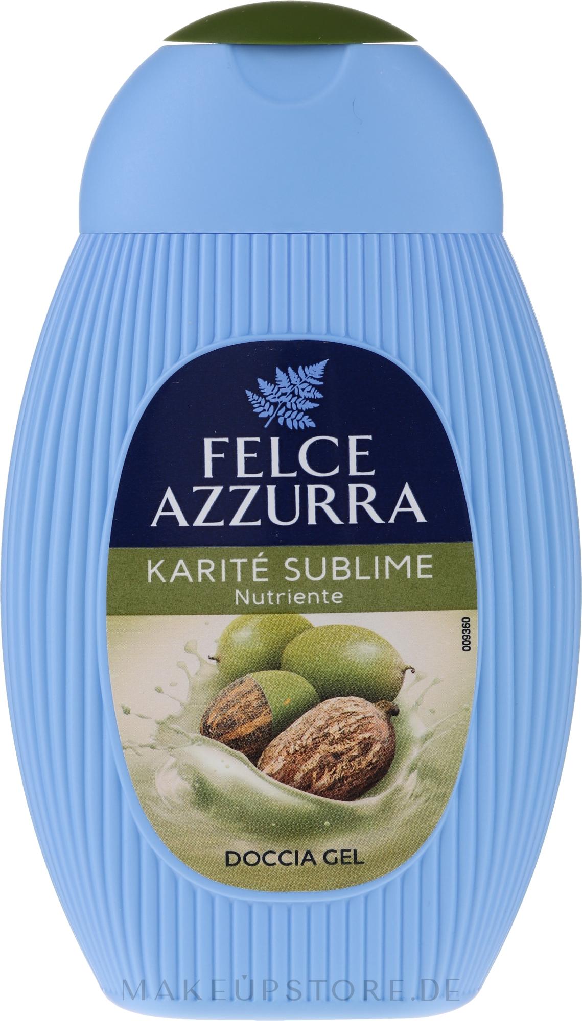 Feuchtigkeitsspendendes Duschgel mit Sheabutter - Paglieri Felce Azzurra Benessere Shower Gel — Bild 250 ml