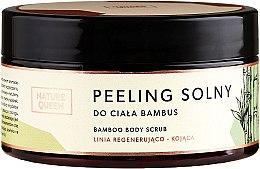 Düfte, Parfümerie und Kosmetik Körpersalzpeeling mit Bambus - Nature Queen Body Scrub
