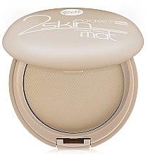 Düfte, Parfümerie und Kosmetik Mattierendes Kompaktpuder - Bell 2 Skin Pocket Pressed Powder Mat