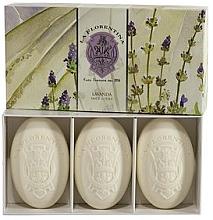Düfte, Parfümerie und Kosmetik Seifen-Set Lavendel - La Florentina Lavender Bath Soap Set