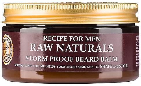 Bartbalsam - Recipe For Men RAW Naturals Storm Proof Beard Balm