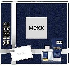 Düfte, Parfümerie und Kosmetik Mexx Whenever Wherever For Him - Duftset (Eau de Toilette/30ml + Duschgel/50ml)