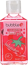 Düfte, Parfümerie und Kosmetik Antibakterielles Handgel Erdbeere - Bubble T Cleansing Hand Gel Strawberry