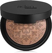 Düfte, Parfümerie und Kosmetik Bronzepuder - Aden Cosmetics Glowing Bronzing Powder