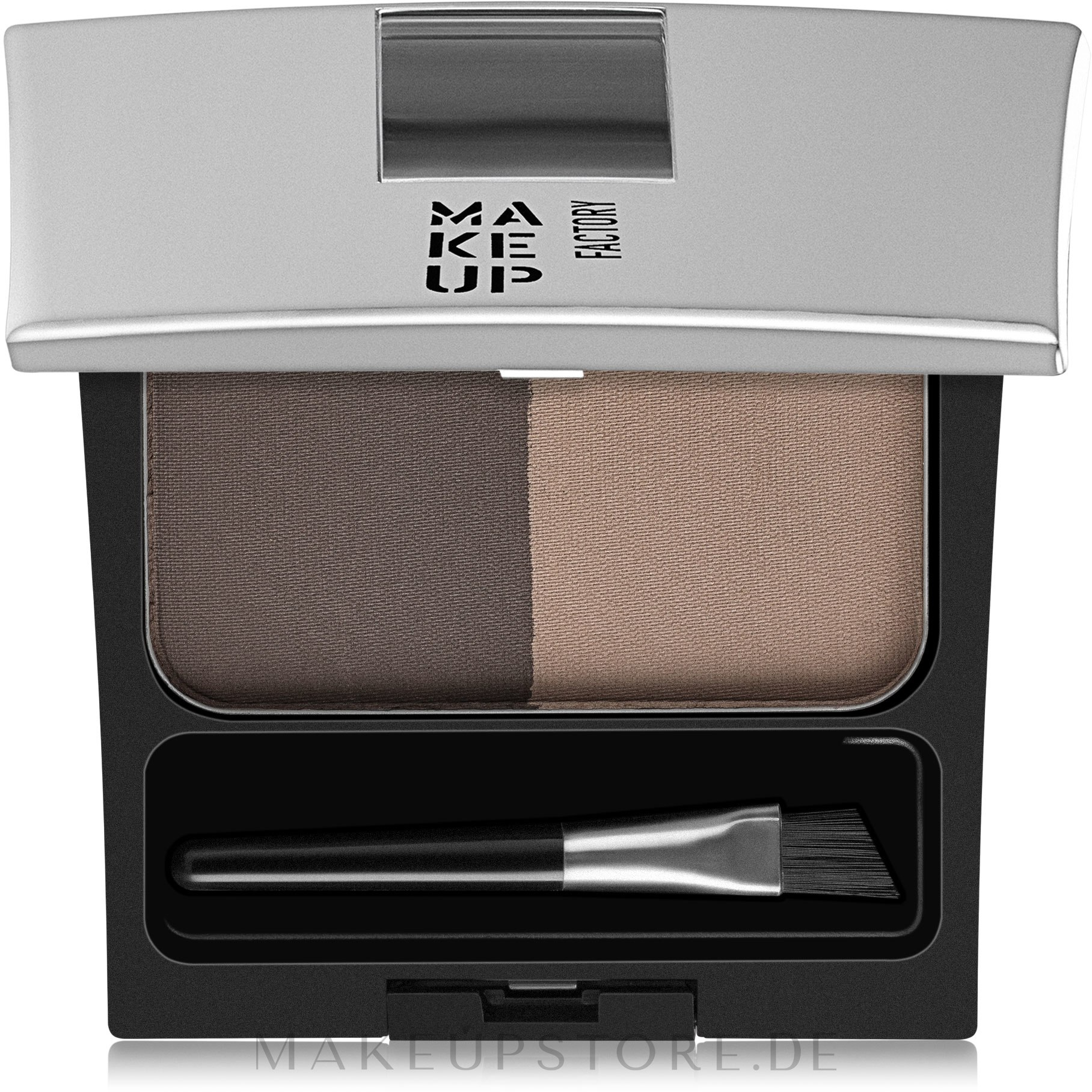 Augenbrauenpuder Duo - Make Up Factory Eye Brow Powder — Bild 2