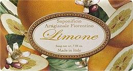 Düfte, Parfümerie und Kosmetik Naturseife Lemon - Saponificio Artigianale Fiorentino Lemon Sinfonia di Agrumi Collection