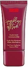 Düfte, Parfümerie und Kosmetik Fluid-Highlighter - Pupa Sparkling Attitude Fluid Face Highlighter Radiant Effect
