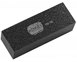 Düfte, Parfümerie und Kosmetik Nagelpolierblock 100/100 RN 00499 schwarz - Ronney Professional Nail Buffer Block