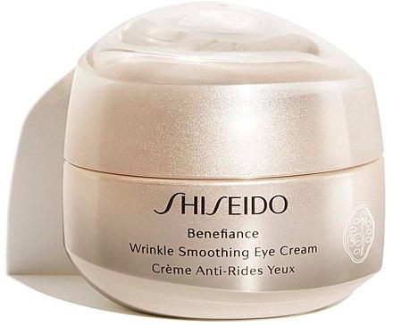 Glättende Anti-Falten Augencreme - Shiseido Benefiance Wrinkle Smoothing Eye Cream — Bild N1