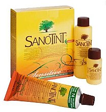 Düfte, Parfümerie und Kosmetik Haarfarbe - Sanotint Light