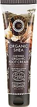 Düfte, Parfümerie und Kosmetik Nährende Fußcreme mit Sheabutter - Planeta Organica Organic Shea Foot Cream