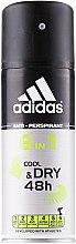 Düfte, Parfümerie und Kosmetik Deospray Antitranspirant - Adidas Anti-Perspirant Cool&Dry 6 in 1 48H