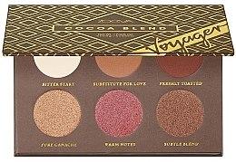 Düfte, Parfümerie und Kosmetik Lidschattenpalette - Zoeva Cocoa Blend Voyager Eyeshadow Palette