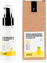 Düfte, Parfümerie und Kosmetik Sonnenschutzcreme für das Gesicht SPF 50 - Freshly Cosmetics Healthy Protection Facial Sun Cream