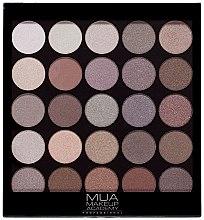 Düfte, Parfümerie und Kosmetik Lidschattenpalette - MUA 25 Shade Palette