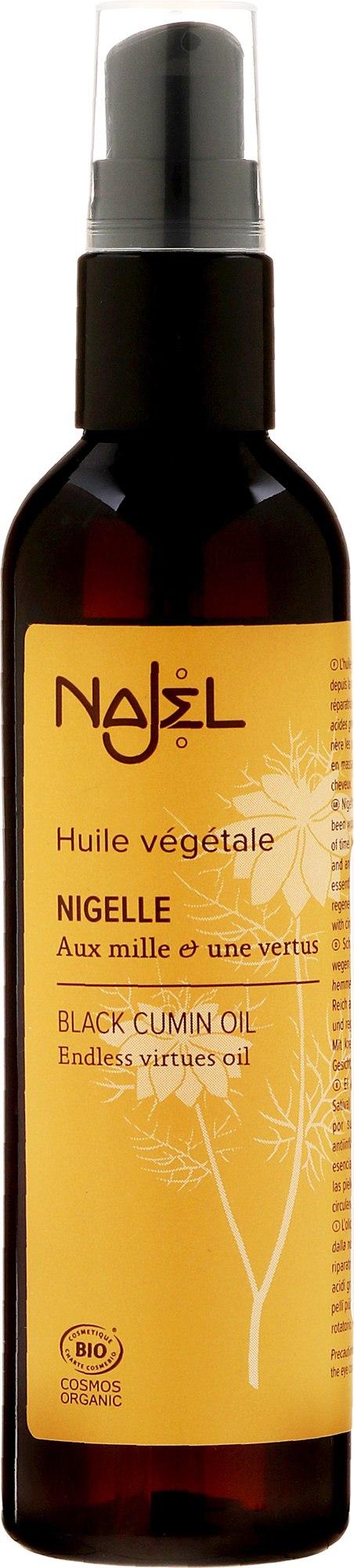 Bio Schwarzkümmelöl für Haar und Körper - Najel Black Cumin Oil — Bild 125 ml