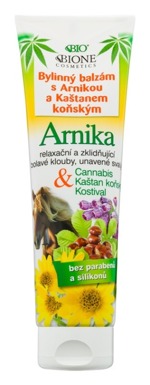 Fußbalsam - Bione Cosmetics Cannabis Arnika Herbal Ointment With Horse Chestnut