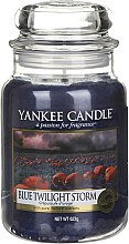 Düfte, Parfümerie und Kosmetik Duftkerze im Glas Blue Twilight Storm  - Yankee Candle Blue Twilight Storm Jar