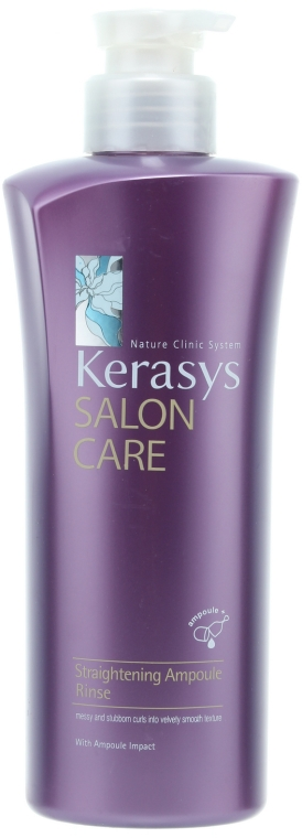Glättende Haarspülung - KeraSys Hair Clinic Salon Care