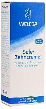 Schützende Sole-Zahncreme gegen Neubildung von Karies und Zahnstein - Weleda Sole Zahncreme — Bild N1