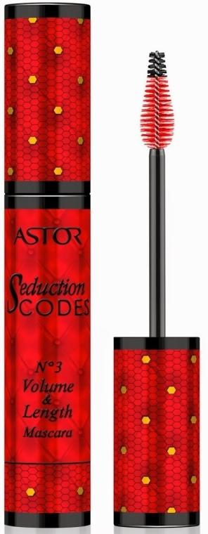 Mascara für lange und voluminöse Wimpern - Astor Seduction Codes N°3 Volume & Length Mascara — Bild N1